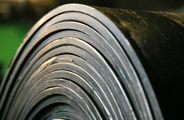 Лента конвейерная ширина 800 мм. толщина 6 мм. 2-х слойная. ГОСТ 20-85