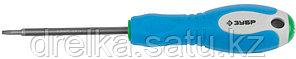 Отвертка ЗУБР, Cr-V сталь, трехкомпонентная рукоятка, цветовая индикация типа шлица, TORX №10, 75мм, фото 2