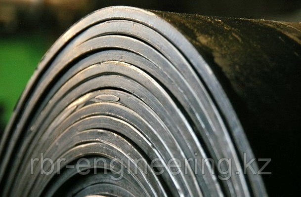 Лента конвейерная ширина 1000 мм. толщина 8 мм.3-х слойная. ГОСТ 20-85