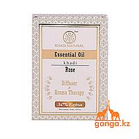 Натуральное эфирное масло Розы (Essential Oil Rose KHADI), 15 мл