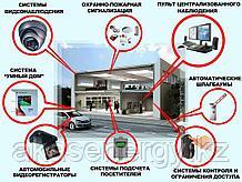 Поставка и Монтаж систем охранной и пожарной сигнализации, видеонаблюдения, управления и контроля доступом