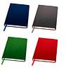 Ежедневник А5, гибкая обложка, Denim, цвет синий,зеленый,красный,серый