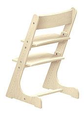 Детский растущий (регулируемый) стул. Ортопедический стул. (лакированный), фото 2