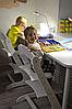 Детский растущий (регулируемый) стул. Ортопедический стул. (лакированный), фото 4