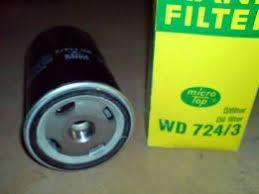 Фильтр масляный WD-724/3 Mann Filter
