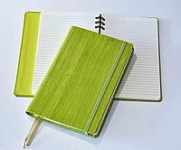 Блокнот Gardena, в линейку со скрытой пружиной, 12,6*21, цвет зеленое яблоко