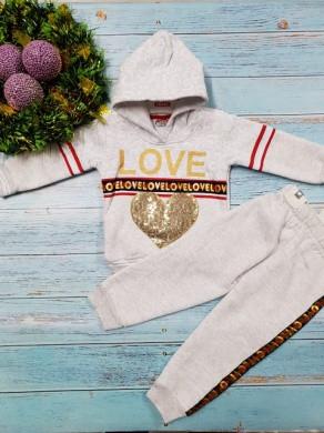 Костюм Love белый