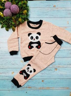 Костюм панда розовый