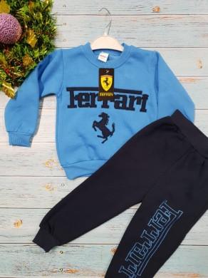 Костюм Ferrari голубой