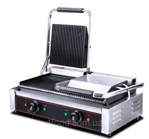 Контактный гриль электрический  HEG-813