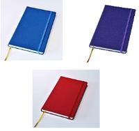 Блокнот Delhi, в точку,13*21, цвет васильковый, красный, фиолетовый, фото 1