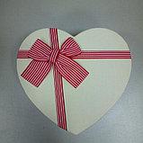 Подарочные коробочки в форме сердца 18*16 см, фото 3