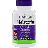 БАД Мелатонин 5 мг (150 таблеток) (с клубникой)