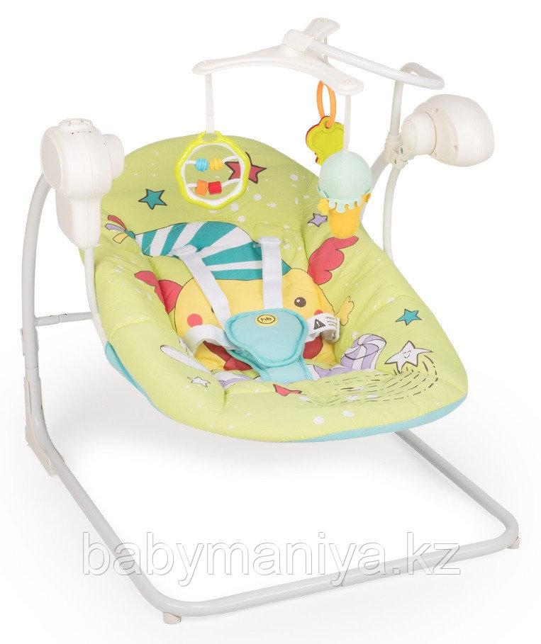 Электрокачели Happy Baby Jolly V2 Green
