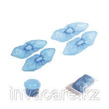 Бахилы медицинские (СТАНДАРТ) синие, навалом #