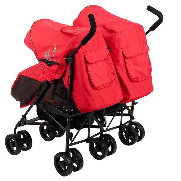 Детская коляска-трость для двойни Mobility One А6670 UrbanDuo