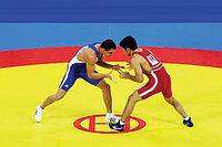 Покрышка для борцовского ковра трехцветный 10м х 10 м соревновательный, фото 1