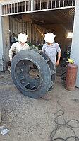 Балансировка и ремонт Дымососов. Балансировка рабочего колеса вентилятора.