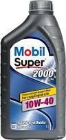 Моторное масло Mobil Super 2000 10w40 1L