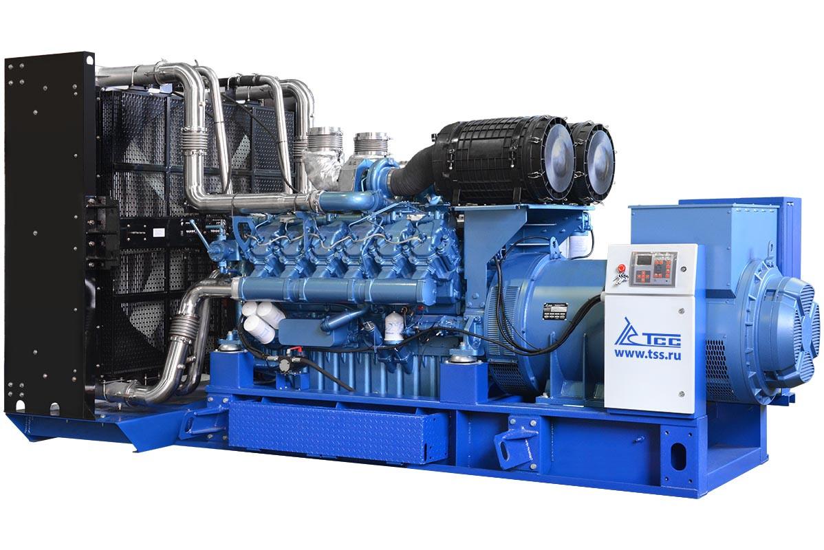 Высоковольтный дизельный генератор ТСС АД-1000С-Т6300-1РМ9