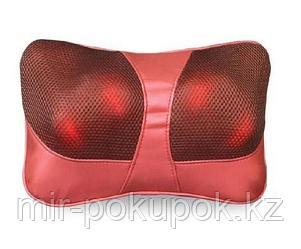 Массажная роликовая подушка для дома и авто Алматы