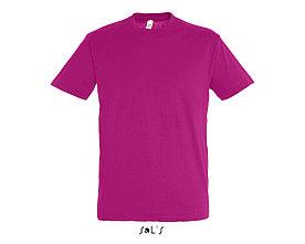 Футболка Sols Regent XL, темно-розовая