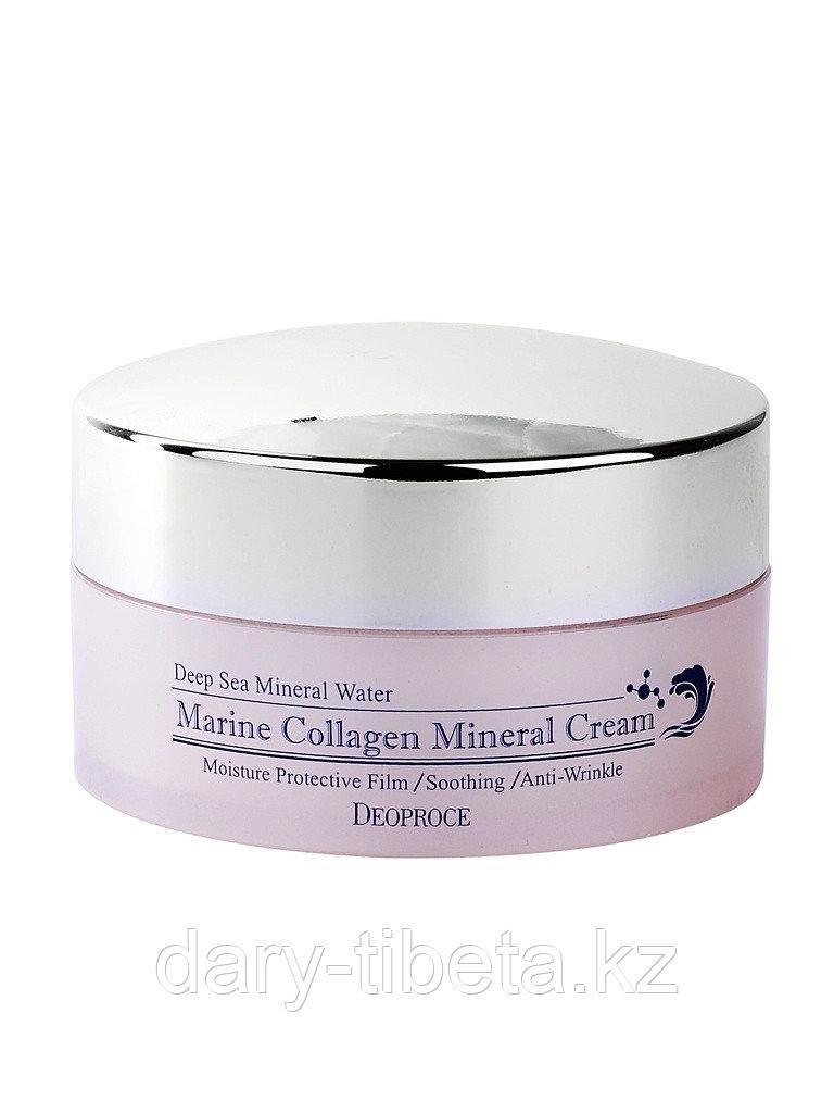 Deoproce Marine Collagen Mineral -Крем для лица с морским коллагеном