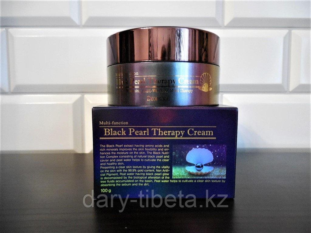 Deoproce Black pearl therapy cream- Крем для лица с черным жемчугом антивозрастной