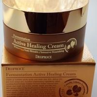 Deoproce Fermentation Active Healing Cream- Оздоравливающий крем с ферментированными экстрактами