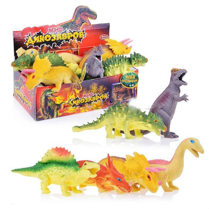 Набор 7211 Динозавры, в коробке