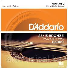 Струны для акустической гитары D'Addario EZ900 .010-050