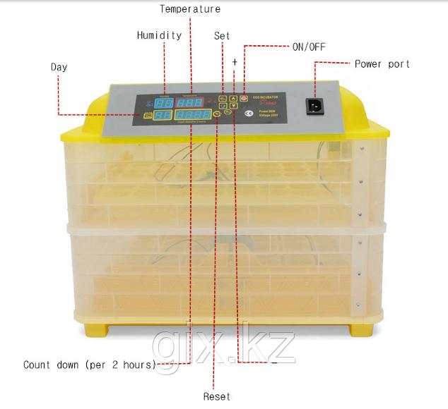 """Цифровой автоматический инкубатор """"Комфорт"""" на 112 яиц - фото 5"""