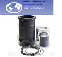 Гильза, поршень, поршневые и уплотнительные кольца  (ПАО Автодизель) для двигателя ЯМЗ  7511-1004008-60