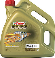Моторное масло CASTROL EDGE 0W-40 A3/B4 4литра, фото 1