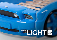 Кровать-машина Mustang 3D