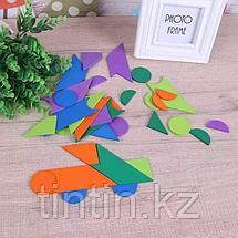 Деревянная мозаика-танграм - 35 деталей, фото 2