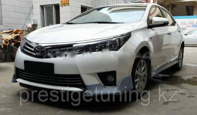 Обвес SE на Toyota Corolla 2013-15
