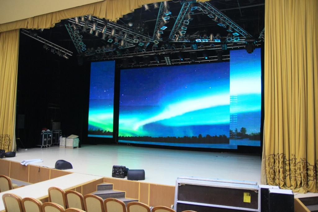 LED экран SMD р5 INDOOR, размер 4,8м*2,88м-13.83кв.м АРЕНДНЫЙ (960мм*960мм)