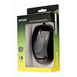 Мышь Delux DLM-375OTB, 3D, Оптическая 800dpi, USB+PS/2, Чёрный, фото 3