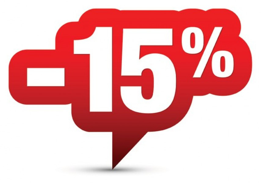 - 15 % от розничной цены для юр. лиц