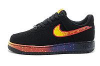 Кроссовки Nike Air Force One черный астероид