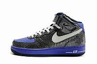 Кроссовки Nike Air Force One Premium графит