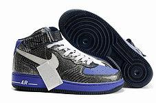 Кроссовки Nike Air Force One Premium графит, фото 2