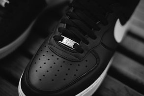 Кроссовки Nike Air Force Supreme X черные, фото 2