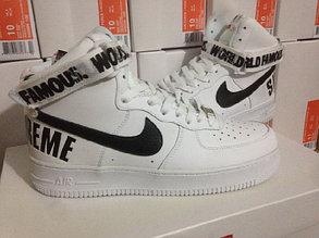 Кроссовки Nike Air Force Supreme X белые, фото 2