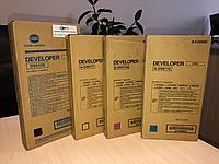 Комплект оригинальных девелоперов DV-617 DV-610 CMYK Konica Minolta bizhub PRO C6000L / C7000 (Оригинальный)