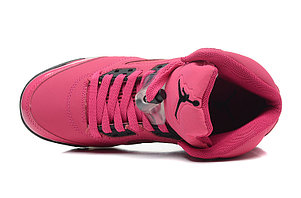 Nike Air Jordan 5 Retro розовые Акула, фото 2