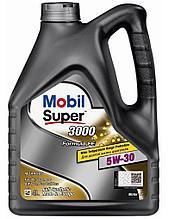 Моторное масло Mobil Super 3000 Formula FE 5w30 4L