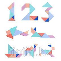 Головоломка 3 в 1: Танграм, Тетрис и форма-Т, фото 3