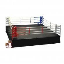 Ринг боксерский 4 х 4 м (боевая зона) на упорах